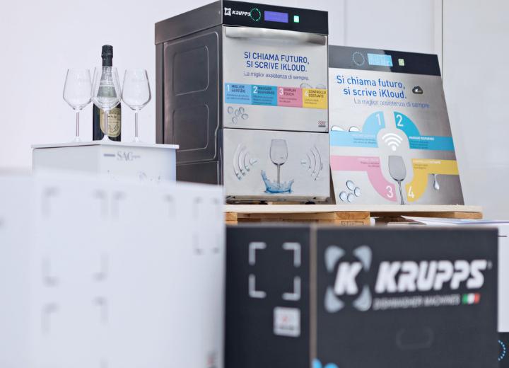 SAC allestimento Brand Revolution Lab 2019 Krupps