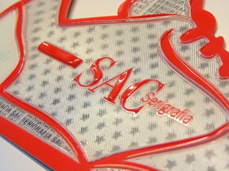 Sac Serigrafia Stampa serigrafica 3d settore calzaturiero e moda